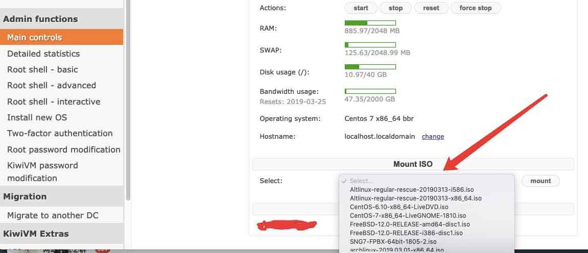 Bandwagon搬瓦工VPS新增Mount ISO功能,自由选择安装100多种系统镜像以及现在有货的实惠方案-辣椒资源网-专注互联网建站资源分享