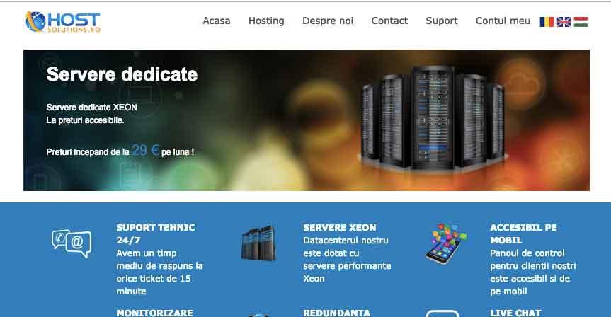 Hostsolutions:罗马尼亚3.6TB大硬盘VPS,抗投诉无视版权,G口带宽,KVM,84美元/年-辣椒资源网-专注互联网建站资源分享