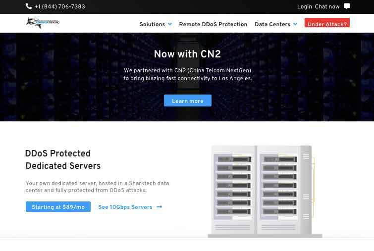 Sharktech:鲨鱼机房,美国高防独立服务器,E3-1270 v2,16G内存,60Gbps防御,1Gbps不限流量,149美元/月-辣椒资源网-专注互联网建站资源分享