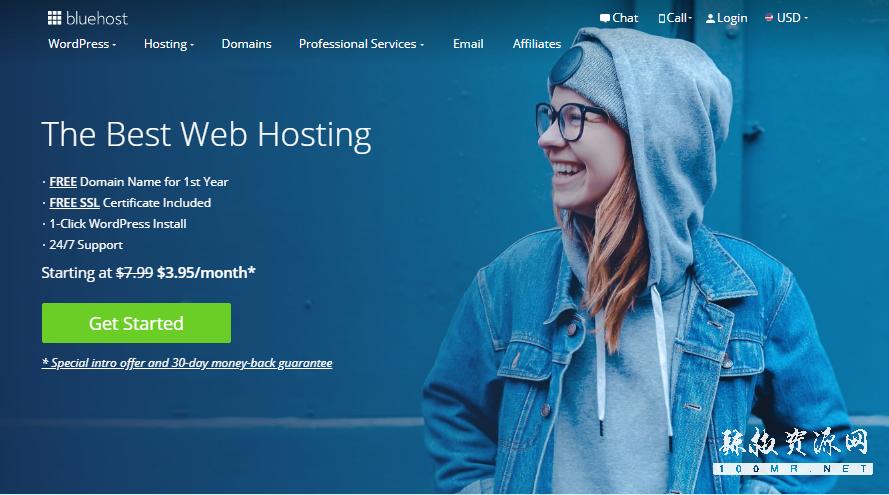 bluehost:稳定VPS,OpenStack云服务器,2G内存/2核/30gSSD/1T流量,19.99美元/月-辣椒资源网-专注互联网建站资源分享